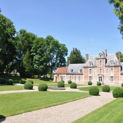 Château de Vauchelles -  Vue arrière