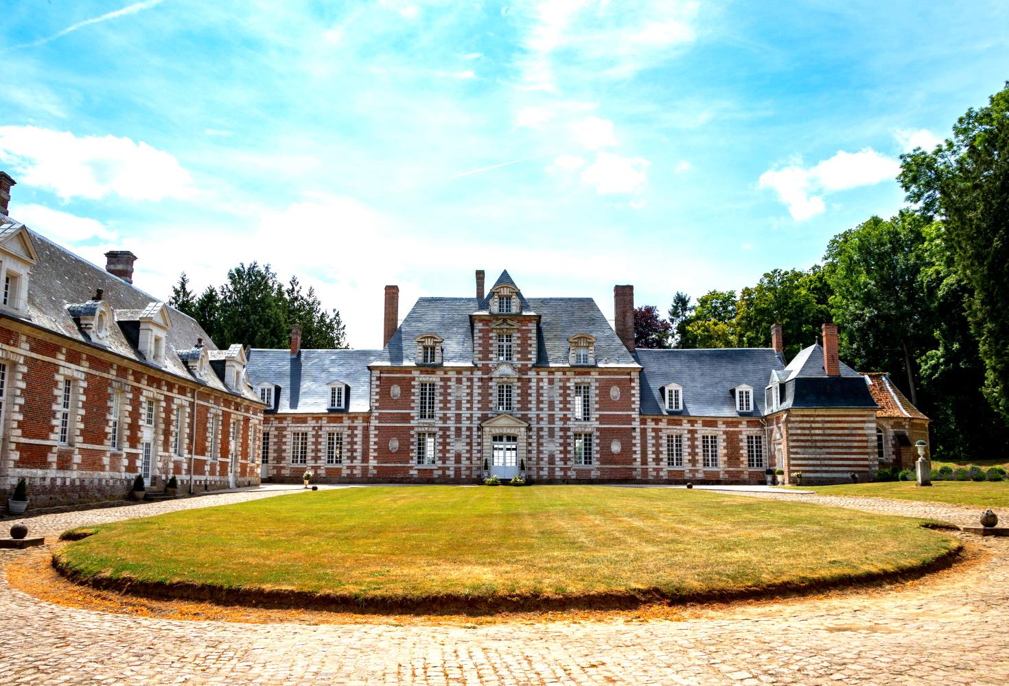 Château de Vauchelles -  Vue avant