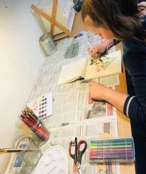 1er au 30 décembre : Cours de dessin/peinture