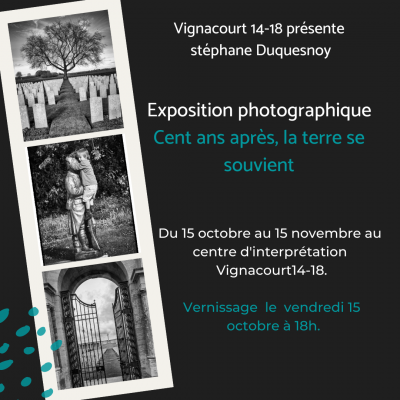Expo photo - 15 octobre / 15 novembre